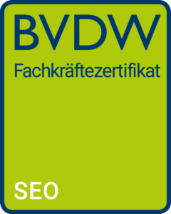 BVDW SEO Zertifikat
